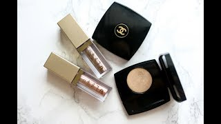 A GLITTER EYE LOOK THAT I AM LOVING - CHANEL + STILA