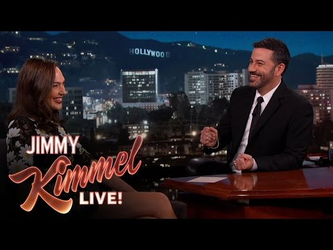 Xxx Mp4 Gal Gadot Asks Jimmy Kimmel About Her Breasts 3gp Sex