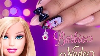 UÑAS BARBIE NUDE