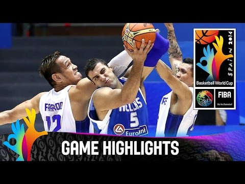 watch Philippines v Greece - Game Highlights - Group B - 2014 FIBA Basketball World Cup