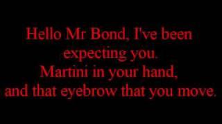 Scouting For Girls - I Wish I Was James Bond LYRICS ON SCREEN.wmv