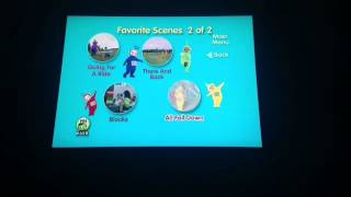 Teletubbies All Fall Down DVD Menu Walkthrough