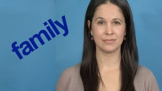 How to Pronounce FAMILY - Word of the Week - American English Pronunciation