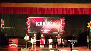 Sharana Afrin from 22nd batch at DU Finance Ice Break