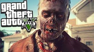 GTA 5 ZOMBIE MOD: Massive Base Vs 1,000 Zombies (GTA 5 Mods)