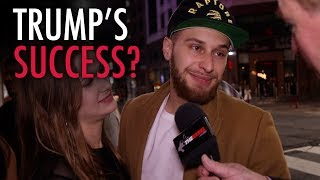 Drunk millennials grade Trump's First 100 days