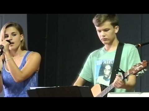 """Stay"" by Sugarland.  Covered by Brick City South. (Faith Bardill and Britton Buchanan)"