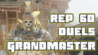 Rep 60 Centurion Grand Master Duels   For Honor