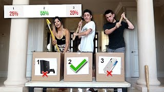 TRY NOT TO Smash the Expensive MYSTERY BOX!! (you decide) **i regret this**