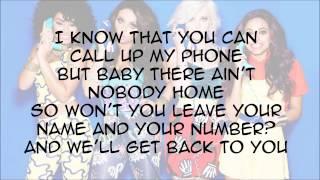 Little Mix - How You Doin feat. Missy Elliott (with Lyrics)