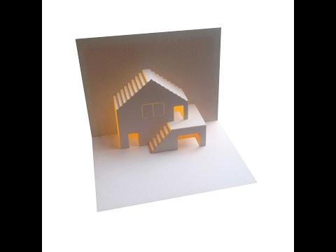 Xxx Mp4 House Garage Pop Up Card Tutorial Origamic Architecture 3gp Sex