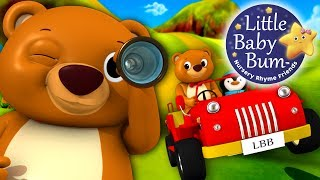The Bear Went Over The Mountain | Nursery Rhymes | By LittleBabyBum!