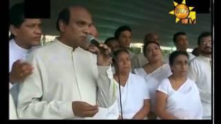 Artists Sing Sasara Wasana Thuru Song
