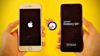 iPhone 8 Plus vs Samsung Galaxy S8 Plus - Speed Test! (4K)