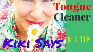 #Great #Breath and #Healthy #Teeth - #Clean #Your #Tongue - Tutorial