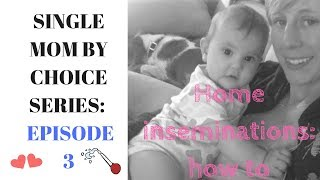 HOW TO DO HOME INSEMINATIONS | Single Mom By Choice Series | EPISODE #3