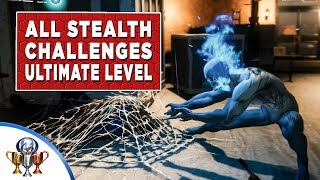 Spider-Man (PS4) All Stealth Challenges - Gold Ultimate Level Walkthrough