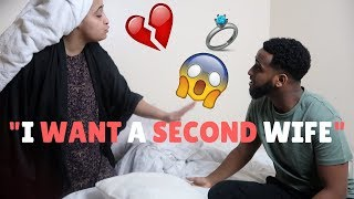 INSANE SECOND WIFE PRANK ON MUSLIM WIFE!!!