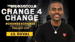 Lil Duval Calls In To Donate $1 During #Change4Change