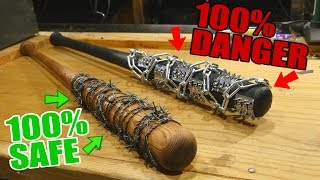 -DIY- 100% SAFE Fully Realistic LUCILLE (The Walking Dead) + Ultra Lucille 2.0