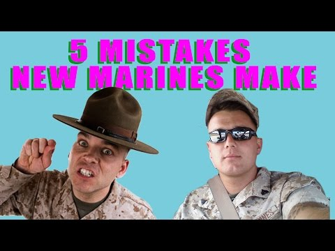 watch 5 Mistakes New Marines Make!!!!