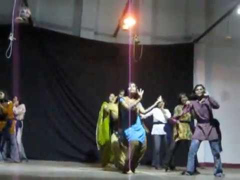 JNV Girls dancing on teacher's day....
