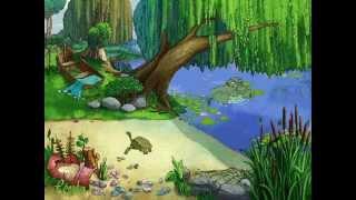 Beautiful Lake Cartoon