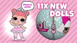 LOL Surprise Ball Pop Game 😍 11 NEW L.O.L Surprise Dolls 🔍 Guess which Dolls!