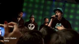 Justin Bieber ,HD,Baby ,live at iheartradio ,HD 1080p