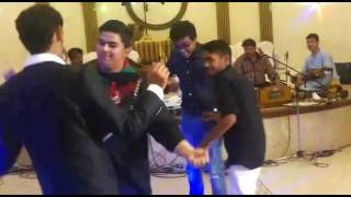 Indians dancing in Afghan Marriage 1