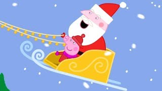 Peppa Pig English Episodes | Up on the Housetop | Peppa Pig Songs! | Cartoons for Children