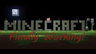 Vlog 7 w/Captain Showee - MINECRAFT FINALLY WORKING!!!