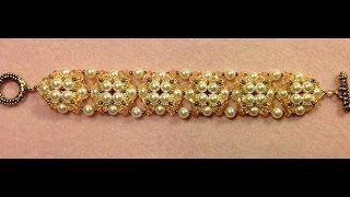 Pearl Button Bracelet Tutorial