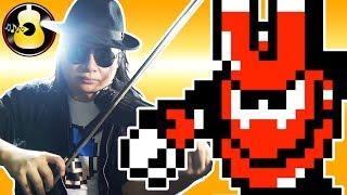 Mega Man 3 - Magnet Man Theme (Violin Metal Cover) || String Player Gamer