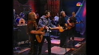 The Highwaymen - Jay Leno 1995 - Everyone gets crazy now and then