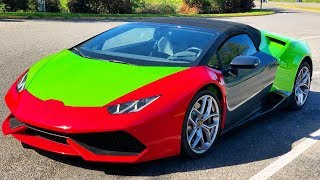 Painting The Salvaged Huracan (The Right Way...)