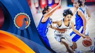 Korea v Chinese Taipei - Full Game - FIBA U16 Women