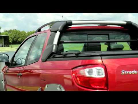 Vrum testa a inovadora Fiat Strada Adventure com três portas