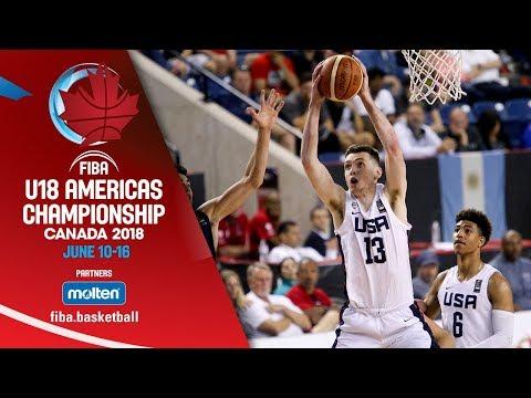 Xxx Mp4 USA V Argentina Semi Finals Re Live ENG FIBA U18 Americas Championship 2018 3gp Sex