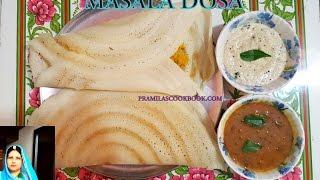 Masala Dosa | How To Make Masala Dosa | Crispy Dosa Recipe | Oil Free Crispy Dosa
