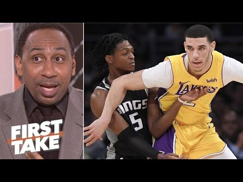 Lonzo Ball needs to be more like De'Aaron Fox Stephen A. First Take