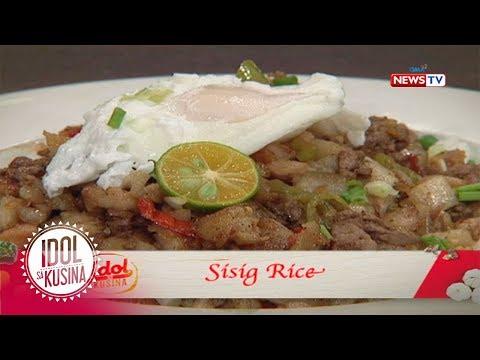 Idol sa Kusina: Sisig Rice