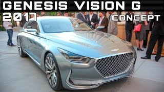 2017 Genesis Vision G Concept Review Rendered Price Specs Release Date