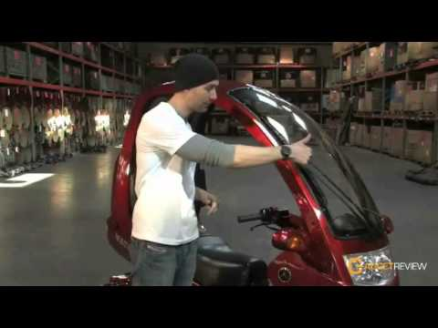 The Auto Moto Three Wheel Scooter Gadget Review