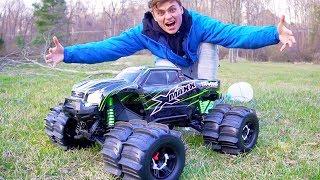 MONSTER XMAXX TRUCK!! (RC CAR MOD DUALLY)
