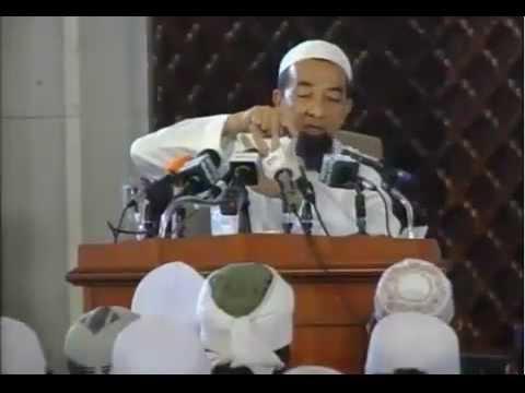 Pegang Kemaluan Batal Wuduk Ustaz Azhar Idrus Masjid Shah Alam 27 5 2012