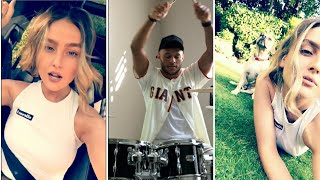 Alex Oxlade-Chamberlain and Perrie Edwards Snapchat Stories PerrieSnap 25 August 2017
