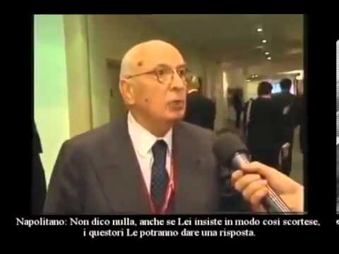VIDEO TEDESCO CENSURATO Giorgio Napolitano SMASCHERATO
