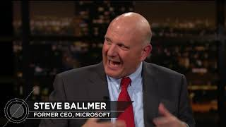Steve Ballmer: Just the Facts | Real Time with Bill Maher (HBO)