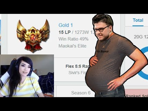 Dyrus Pregnant?!? | LS Reaction to Super Hard Stuck Gold 1 Player - LoL Funny Stream Moments #194